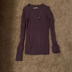 Maurice's Purple Sweater